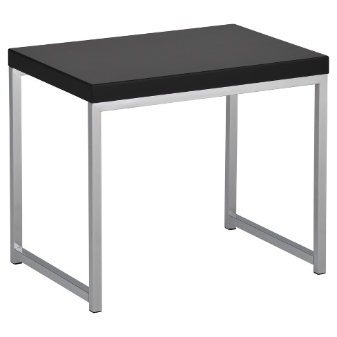 Wall Street End Table - Black - Ave Six - image 1 of 1