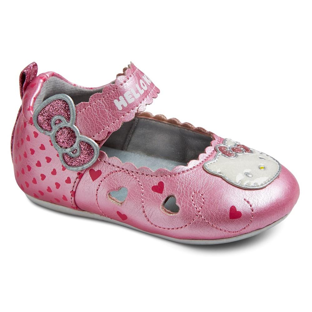 Girls' Hello Kitty Julia Mary Jane Shoes - Pink 2