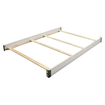 Delta Children Full Size Crib Conversion Rails - Bianca White