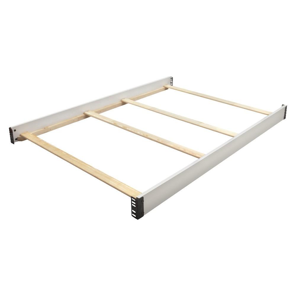 Image of Delta Children Full Size Crib Conversion Rails - Bianca White