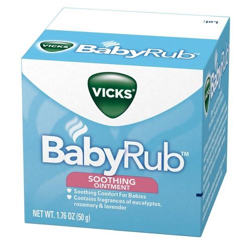 Vicks BabyRub Chest Rub Soothing Ointment - 1.76oz - image 1 of 4