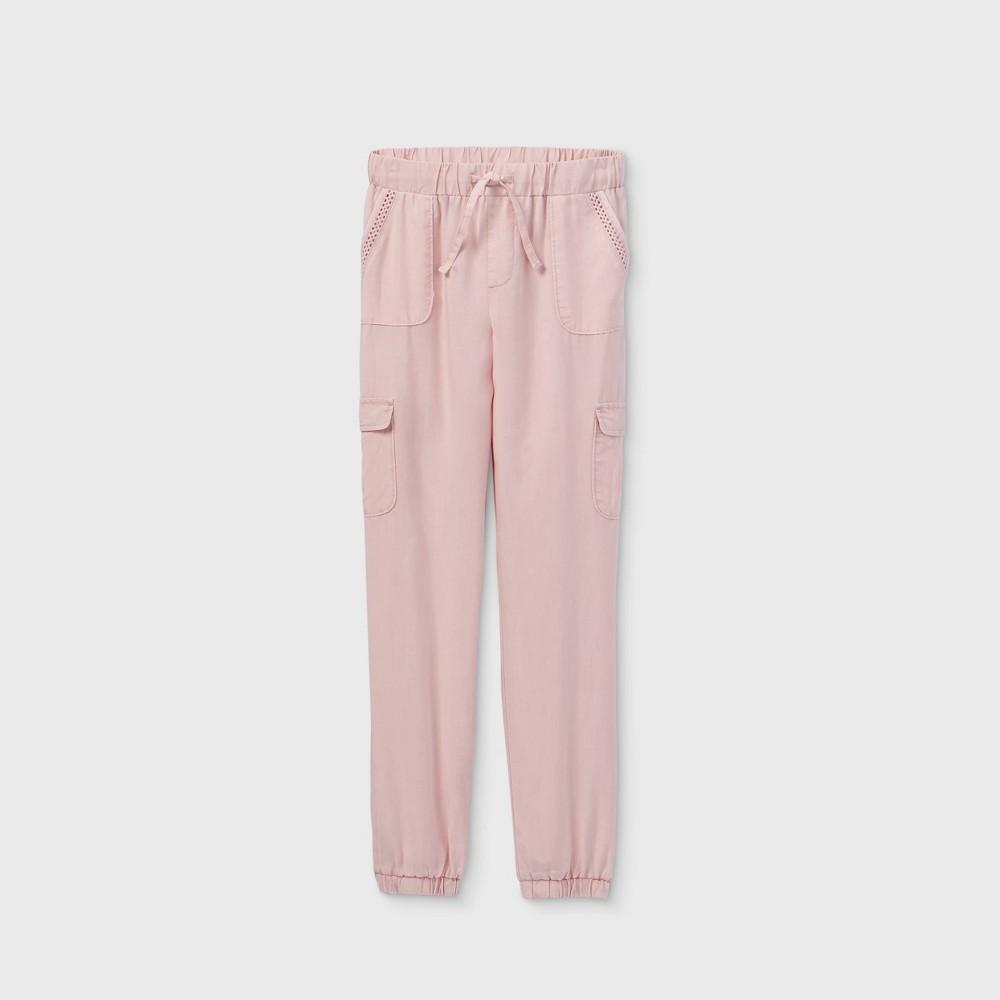 Girls 39 Utility Cargo Pants Art Class 8482 Pink Xl