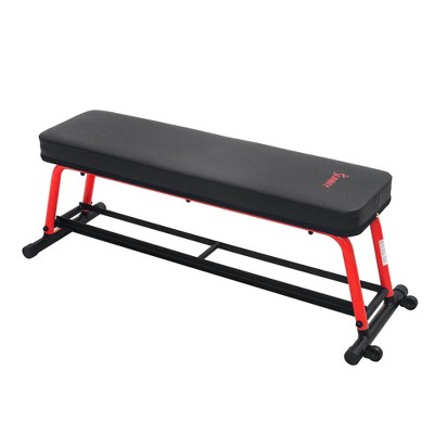 Sunny Health & Fitness Power Zone Strength Flat Bench