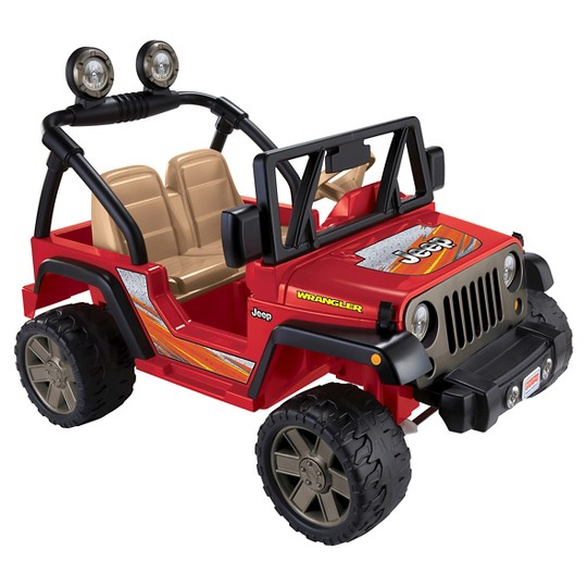 Power Wheels Jeep Wrangler - Red image number null