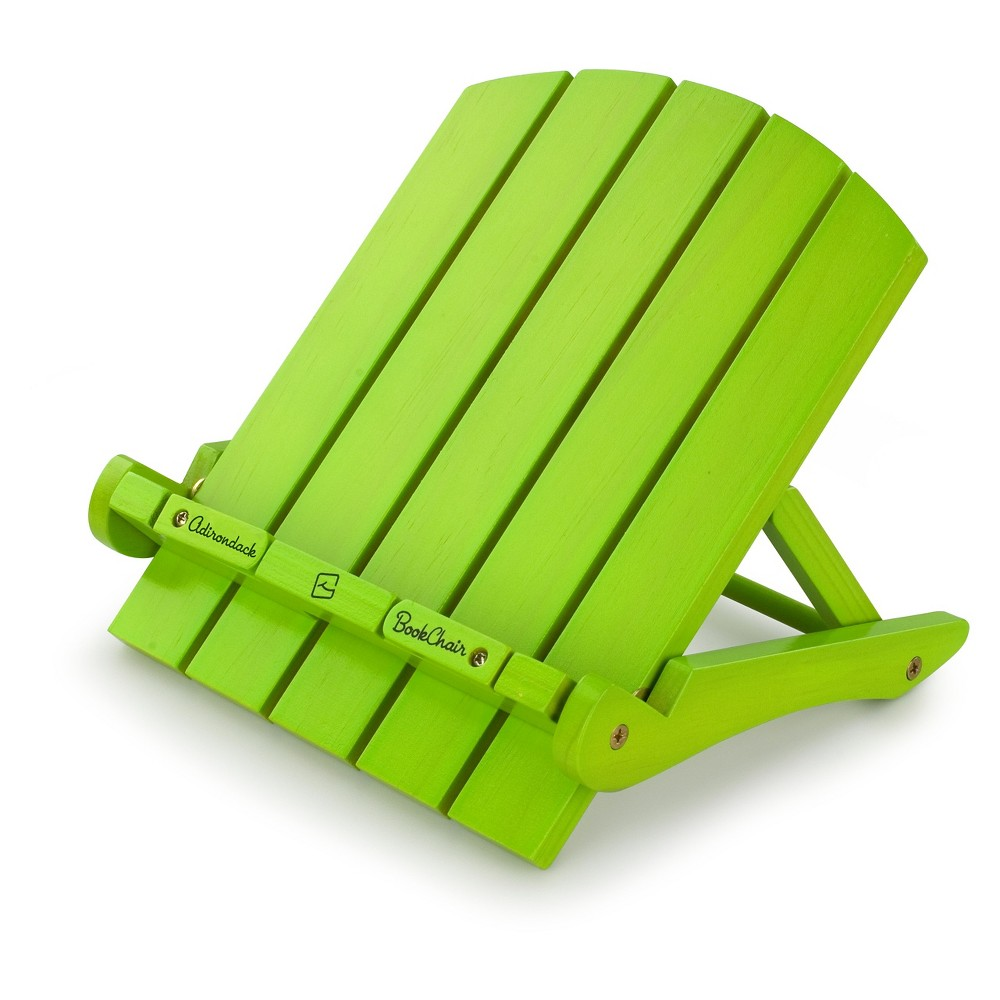 Thinking Gifts Adirondack Book Chair - Green