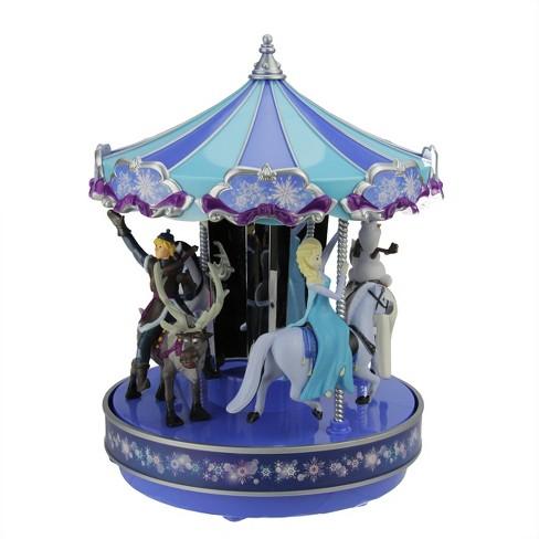 Mr Christmas Carousel.Mr Christmas Mr Christmas Disney Frozen Animated Musical Carousel Decoration 11851