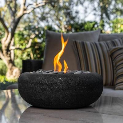 Zen Outdoor Table Top Fire Bowl - Graphite - Terra Flame
