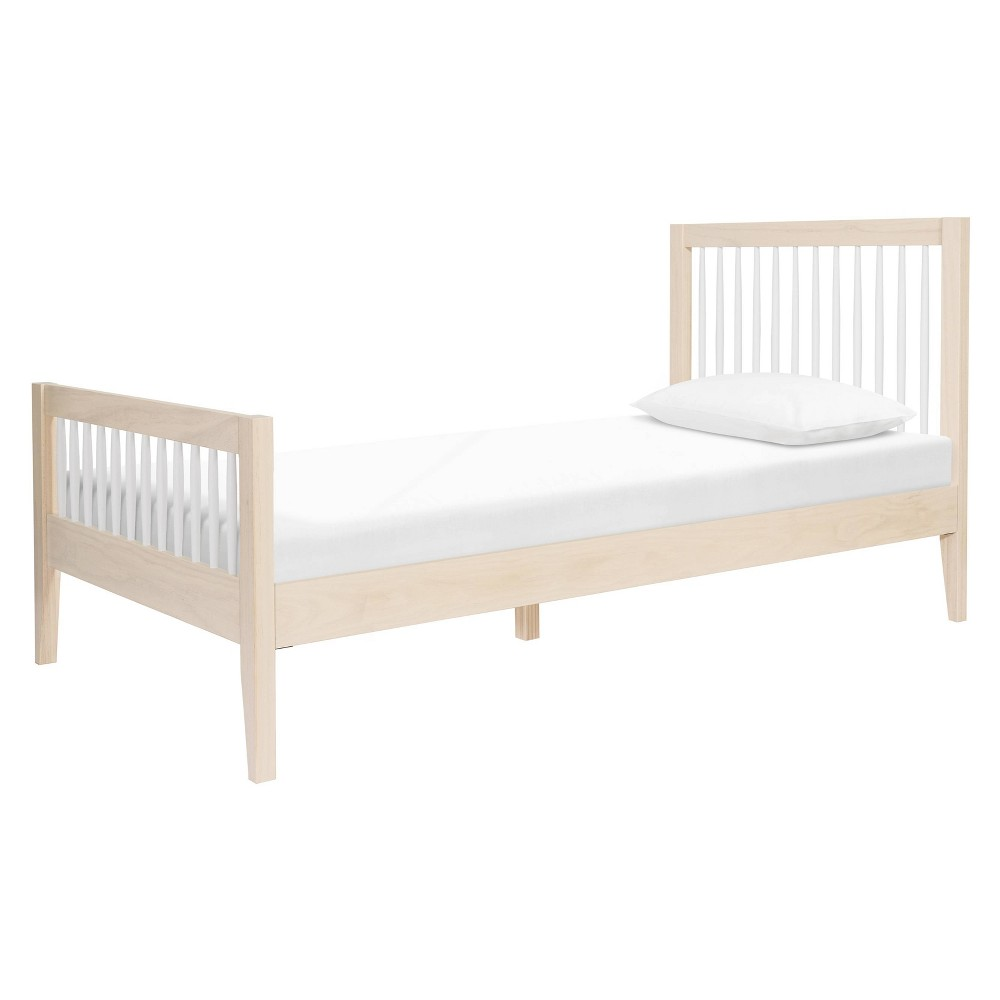 Sprout Twin Bed Washed Natural/White - Babyletto