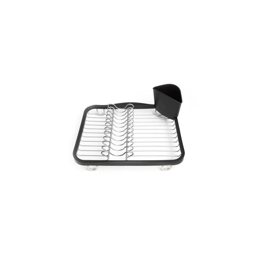 Plastic Sinkin In-Sink Dish Rack Black - Umbra