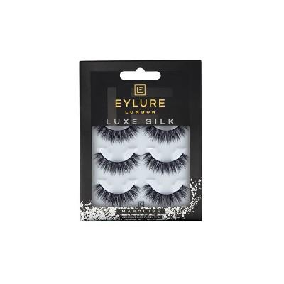Eylure False Eyelashes Luxe Silk Marquise - 3pr