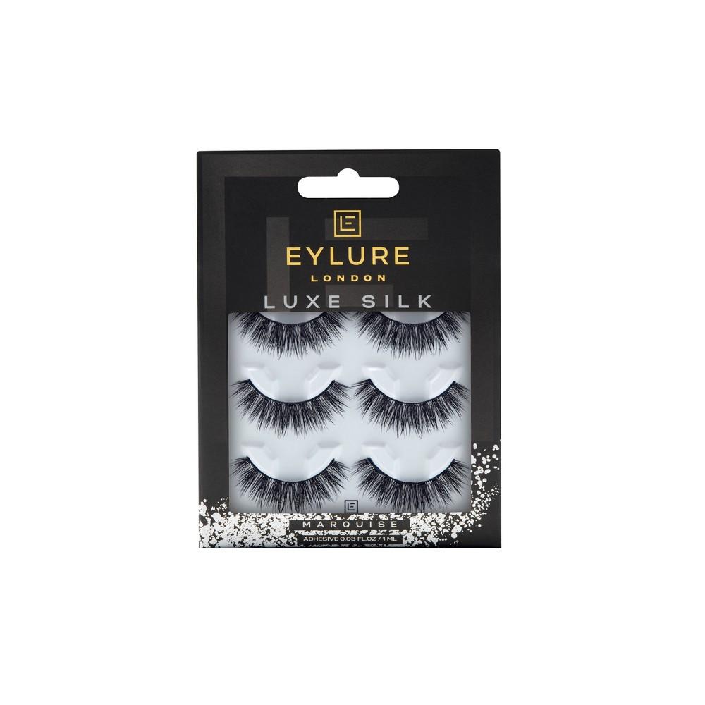 Image of Eylure False Eyelashes Luxe Silk Marquise - 3pr