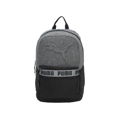 "Puma 18.5"" Mixed-Tape Backpack - Black/Gray"