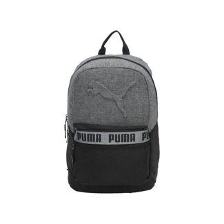 "Puma 18.5"" Mixed-Tape Backpack - Black/Gray"