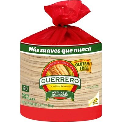 Guerrero Gluten Free Corn Tortillas - 66.56oz/80ct