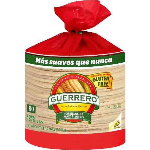 Guerrero Gluten Free Corn Tortillas 66 56oz 80ct Target