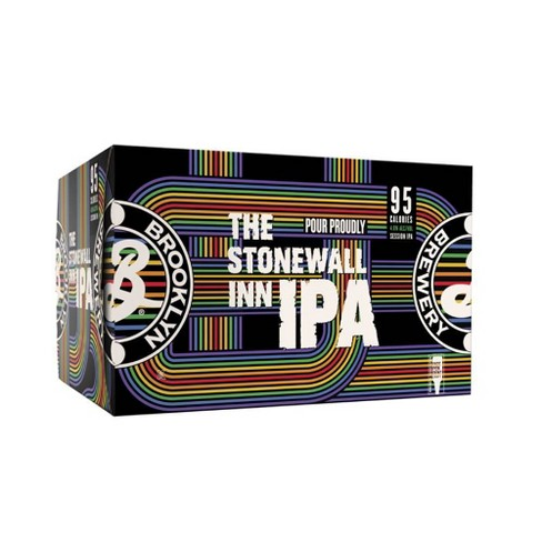 Brooklyn Stonewall Inn Session IPA Beer - 6pk/12 fl oz Cans - image 1 of 3