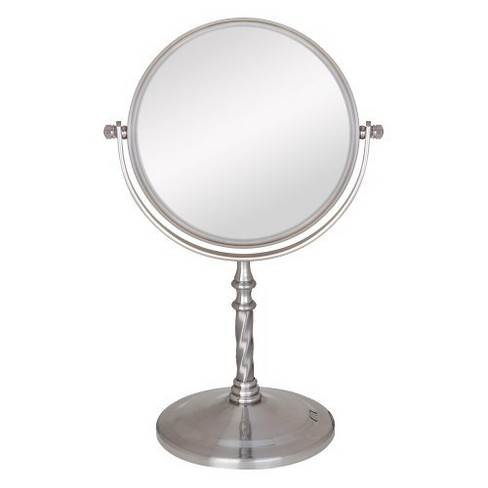 Zadro Two Sided Swivel Vanity Mirror 1x Amp 5x