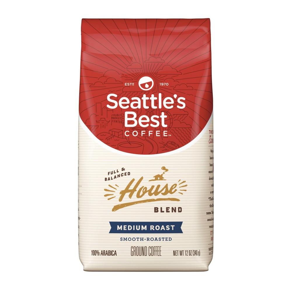 Seattle S Best Coffee House Blend Medium Roast Ground Coffee 12oz