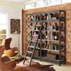 "Headway 90"" Wood Bookshelf Brown - Modway - image 4 of 4"