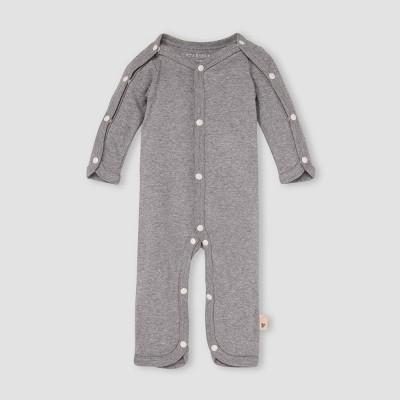 Burt's Bees Baby® Baby Snap Jumpsuit - Gray Preemie
