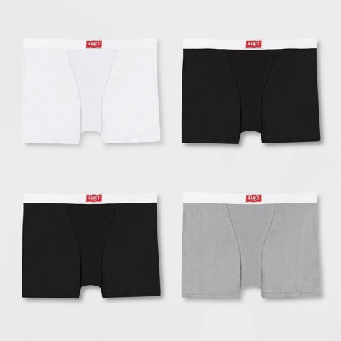 Hanes Premium Women's 4pk Underwear with Comfortsoft Waistband Boyfriend Boxer Briefs - image 1 of 4