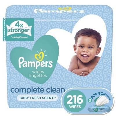 Pampers Wipes Complete Clean (216ct)
