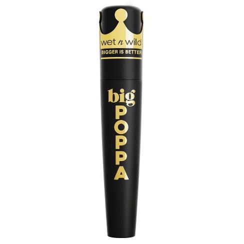 Wet n Wild Big Poppa Mascara - Blackest Black - 0.33 fl oz - image 1 of 4