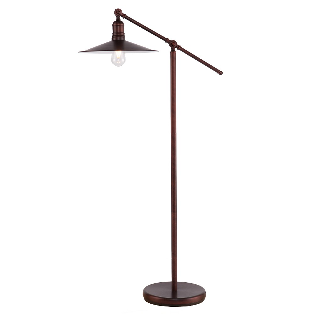 Conall Floor Lamp Brushed Bronze (Includes Energy Efficient Light Bulb) - Aiden Lane