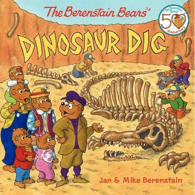 The Berenstain Bears' Dinosaur Dig (Paperback) by Jan Berenstain & Mike Berenstain