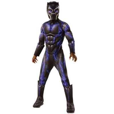Rubie's Marvel Black Panther Movie Deluxe Black Panther Child Costume - Blue