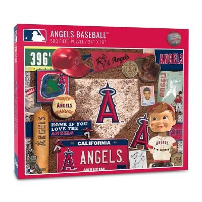 MLB Los Angeles Angels 500pcs Throwback Puzzle