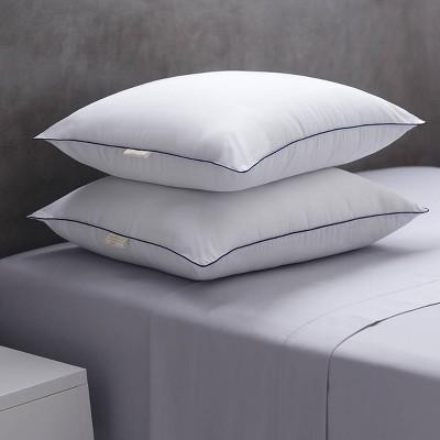 Standard 2pk Soft Touch Microfiber Bed Pillow - Weatherproof