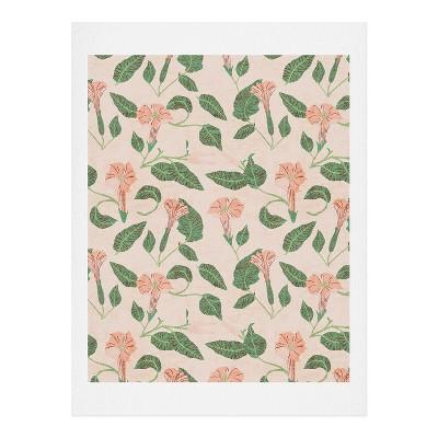 Holli Zollinger Desert Moonflower Art Print Unframed Wall Poster Pink - Deny Designs