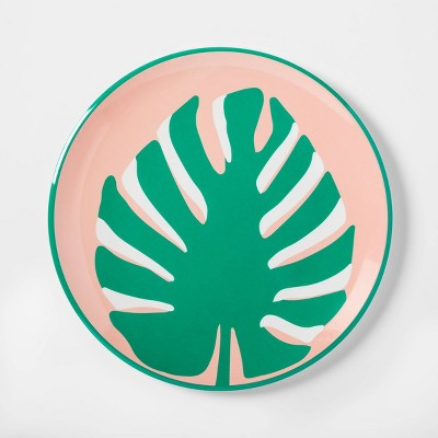 10.4  Plastic Palm-Leaf Dinner Plate - Sun Squad™