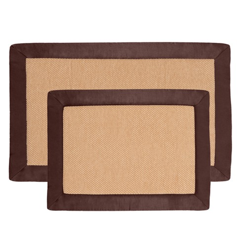 2pc Solid Bath Mat Set - Yorkshire Home - image 1 of 4