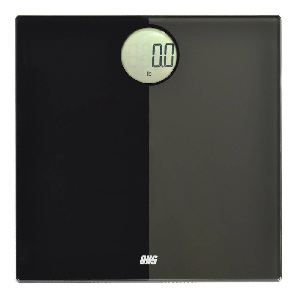 Image of Shadow Digital Bathroom Scale Black - Optima Home Scales