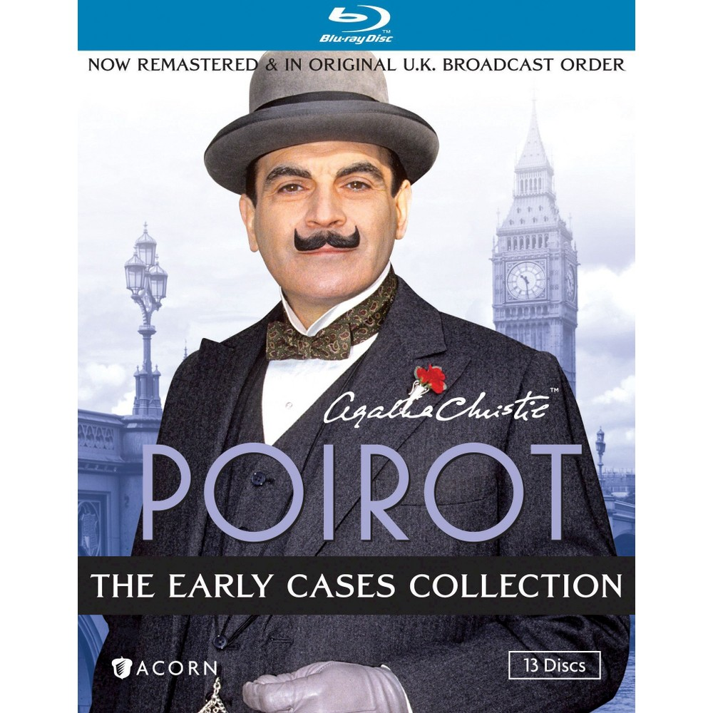 Poirot-early Cases Collection (Blu-ray/13 Disc/45 Myst/Fs)