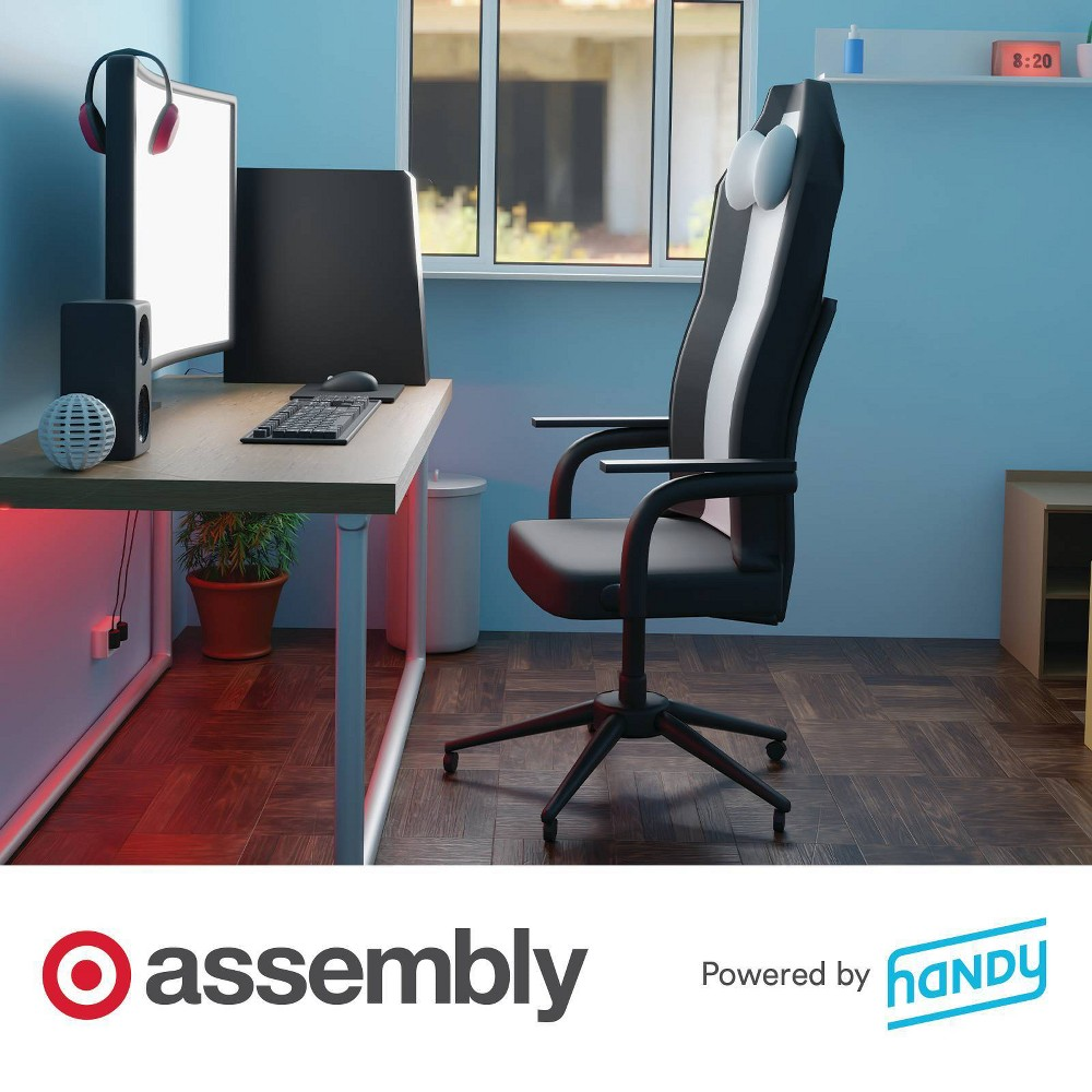 Gaming Desk Assembly Powered By Handy