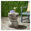Haruki Round Concrete Accent Table - Safavieh® - image 2 of 4