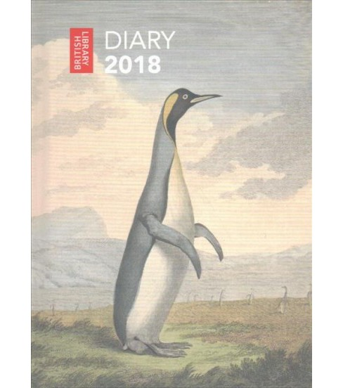British Library Pocket Diary 2018 (Paperback) - image 1 of 1