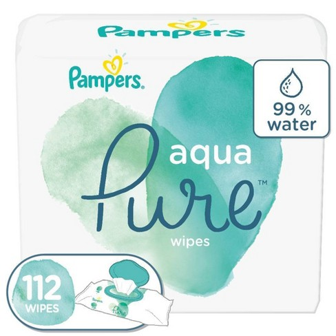 Pampers Aqua Pure Wipes (Select Count) - image 1 of 4