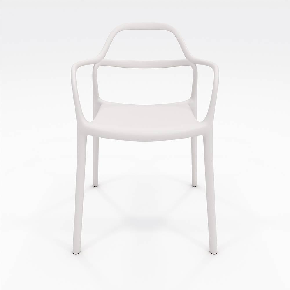 Dali Indoor/Outdoor Chair White - Olio Designs Promos