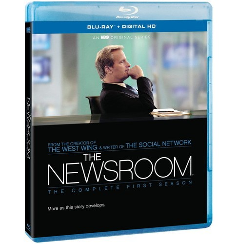 Newsroom:Complete First Season (Includes Ultraviolet) (Blu-ray) - image 1 of 1