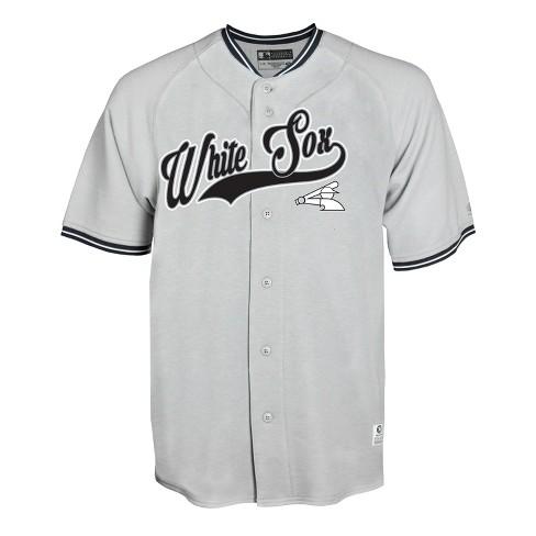 best service 208a0 1951b Chicago White Sox Gray Retro Team Jersey - M