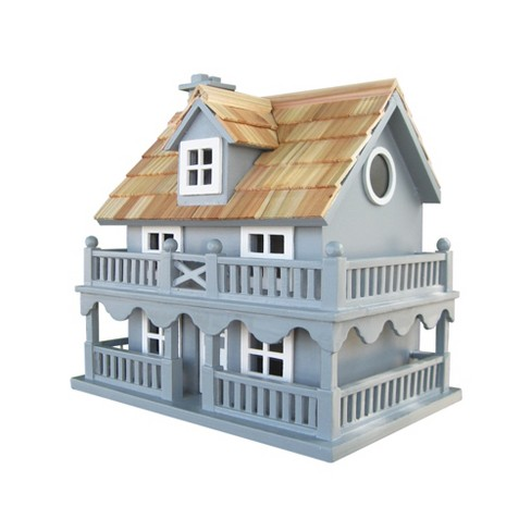 Home Bazaar HB-6102PHBS Novelty Cottage Decorative Hanging Wood Birdhouse, Blue - image 1 of 1