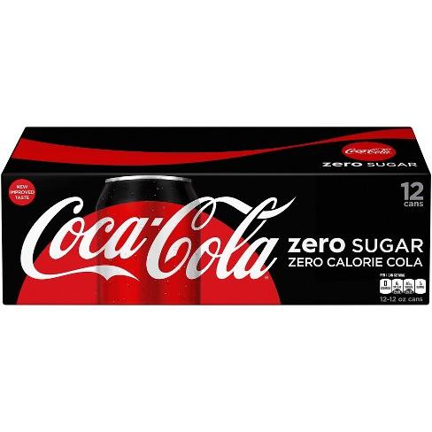 Coca-Cola Zero Sugar - 12pk/12 fl oz Cans