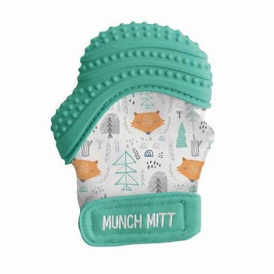 Munch Mitt Malarkey Kids Teether with Travel Bag - Fox
