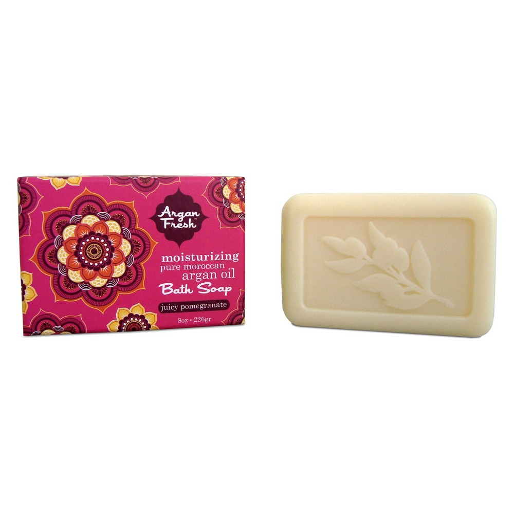 Olivia Care Argan Fresh Juicy Pomegranate Bar Soap - 8oz