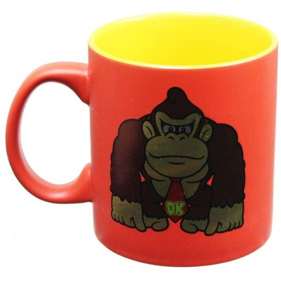 Just Funky Donkey Kong Foil Print 20oz Coffee Mug