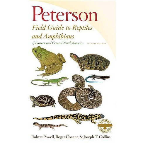 Peterson Field Guide to Reptiles and Amphibians of Eastern and Central North America - 4 Edition - image 1 of 1